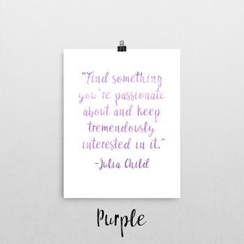 Julia Child Quote Printable