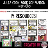 Julia Cook Book Companions Activities and Discussion Cards Bundle
