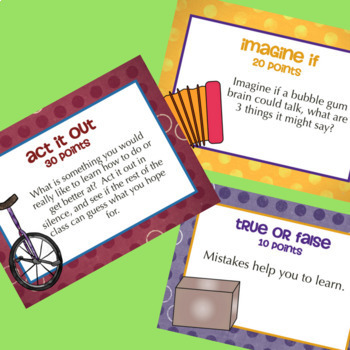 Julia Cook's BUBBLE GUM BRAIN: School Counseling Growth Mindset Lesson