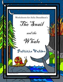 Julia Donaldson Companion Worksheet Bundle