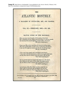 Julia Ward Howe and the Battle Hymn of the Republic