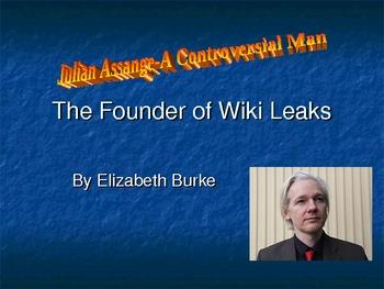 Julian Assange-Founder of WikiLeakes