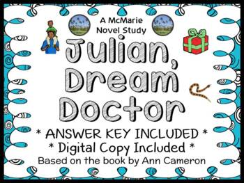 Julian, Dream Doctor (Ann Cameron) Novel Study / Comprehension  (23 pages)