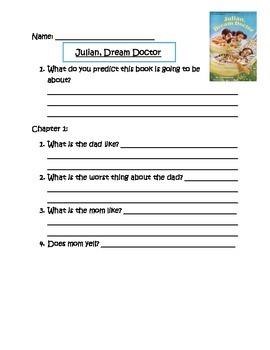 Julian Dream Doctor Comprehension Questions