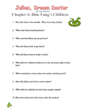 Julian, Dream Doctor Comprehension Questions