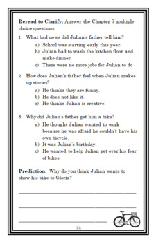 Julian's Glorious Summer (Ann Cameron) Novel Study / Comprehension   (20 pages)