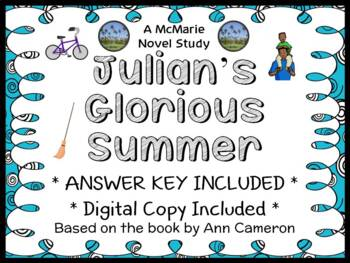 Julian's Glorious Summer (Ann Cameron) Novel Study / Compr