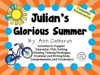 Julian's Glorious Summer by Ann Cameron:  A Complete Liter