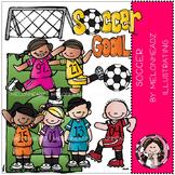 Soccer clip art- by Melonheadz