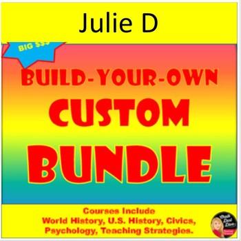 Julie D Custom Bundle