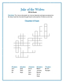 Julie of the Wolves: 4 Fill-In Word Puzzles—Fun Downtime Activities!
