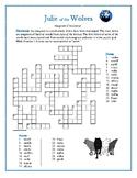 Julie of the Wolves Anagram Crossword—Unique Spelling Challenge!