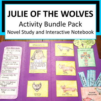 Julie of the Wolves Novel Study & Interactive Notebook