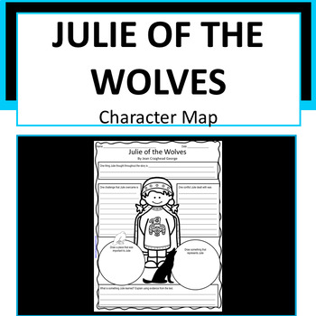 Julie of the Wolves Character Map