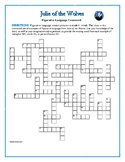 Julie of the Wolves Figurative Language Crossword—Unique!