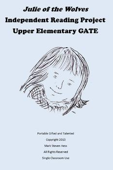 Julie of the Wolves -- Independent GATE Reading Project Upper Elementary
