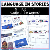 Julie of the Wolves Book Companion Differentiated Activities Speech Therapy