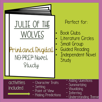 Julie of the Wolves Novel Study