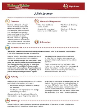 Julie's Journey; Recognizing Grooming