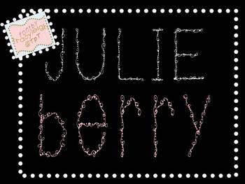 Julieberry FONT