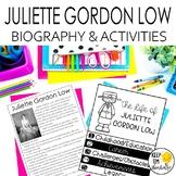 Juliet Gordon Low Biography & Reading Response Activities