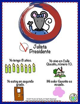 Julieta para presidente PERSONAL INFO IN SPANISH Mini Theme Pack