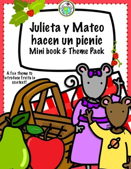 Julieta y Mateo hacen un picnic Dramatic Play Spanish Printable Pack