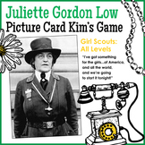 """Juliette """"Daisy"""" Gordon Low Picture Card Kim's Game - Girl Scouts: All Levels"""