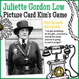 "Juliette ""Daisy"" Gordon Low Picture Card Kim's Game - Girl"