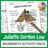 Juliette Gordon Low - Biography Activity Pack