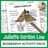 Juliette Gordon Low - Biography Activity Pack