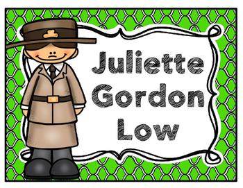 Juliette Gordon Low Biography Pack