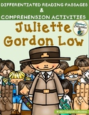 Juliette Gordon Low Differentiated Reading Passages & Comprehension Activities