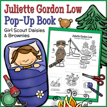 Juliette Gordon Low Pop-Up Book - Girl Scout Daisies & Brownies