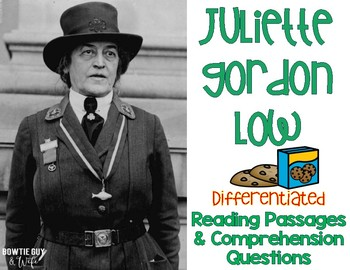 Juliette Gordon Low Reading Passages Leveled Texts