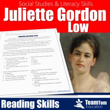 Juliette Gordon Low [Social Studies Reading Passages]