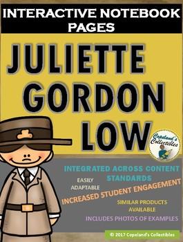Juliette Gordon Low's Interactive Notebook Pages
