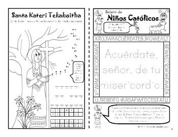Julio 2017 Boletín de Niños Católicos
