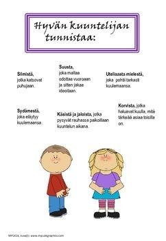 Julistepaketti koululaisen taitoja (in Finnish)