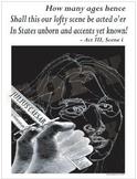 Shakespeare's Julius Caesar Poster
