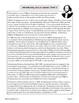 Julius Caesar Shakespeare Background Informational Texts, Activities