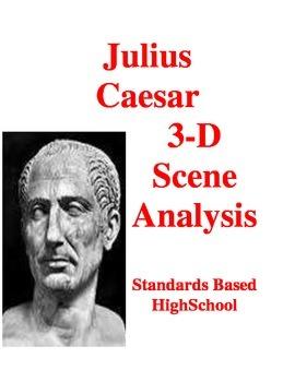 Julius Caesar: 3-D Scene Analysis Project Diorama: Standards Based