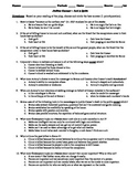 Julius Caesar Act 3 Multiple Choice and Short Answer Quiz