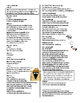 Julius Caesar Act II Abridged Text & Modernized Scenes w/ notes, vocab, & q's