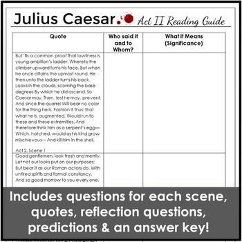 Julius Caesar Act 2