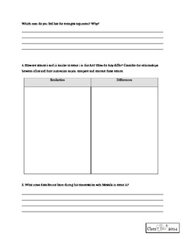 Julius Caesar - Act IV and V Activity Pack