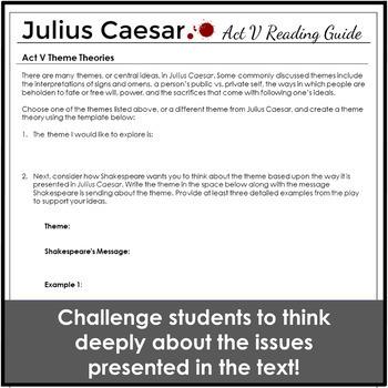 Julius Caesar Act 5