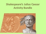 Julius Caesar Activity Bundle (Shakespeare's Play)