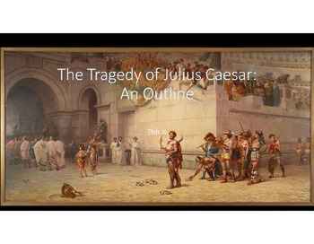 Julius Caesar Outline Charts Acts I-4