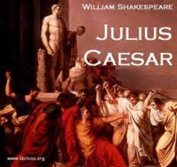 Julius Caesar Acts III, IV, V Test with Key